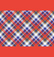 color plaid seamless pattern vector image vector image