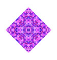 colorful isolated ornate geometrical triangular vector image vector image