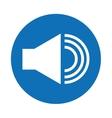 control panel button menu icon vector image