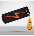 energy drink icon vector image