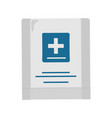 first aid kit in flat design vector image vector image
