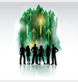 group of people 2802 vector image vector image