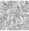 Ornamental vintage Floral abstract seamless vector image vector image