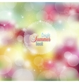 Summer abstract background with bright colors and vector image vector image