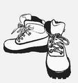 tour boots 02 vector image