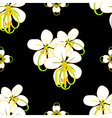 Cassia Fistula - Gloden Shower Flower Black vector image vector image