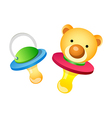 icon baby toy vector image vector image
