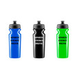 plastic shaker in the vector image vector image