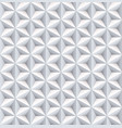 six 6 point star pearl nacreous white seamless vector image