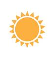 sun logo designs modern simple vector image vector image