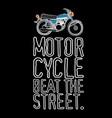 beat street vector image vector image