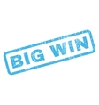 Big Win Rubber Stamp vector image vector image