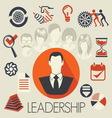 freelance leadership teamwork3 resize vector image vector image
