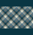 gray blue check plaid seamless pattern vector image vector image