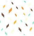 quadrangle pattern seamless background vector image vector image