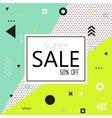 Sale modern banner vector image
