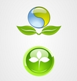 set of environment logo icon design vector image vector image
