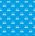 small bra pattern seamless blue vector image vector image