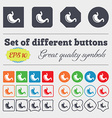 Stomach icon sign Big set of colorful diverse vector image vector image