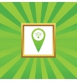 Wi-Fi pointer picture icon vector image vector image