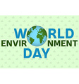 world environment day background template