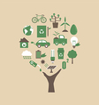 142ecology tree vector image vector image