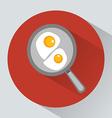 Classic English breakfast vector image