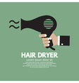 Hair Dryer vector image vector image