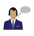 Male call center avatar vector image vector image
