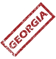 New Georgia rubber stamp vector image vector image