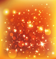 orange sunburst summer holiday background vector image vector image