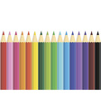 Pencils set vector image vector image