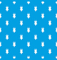 swimsuit pattern seamless blue vector image vector image