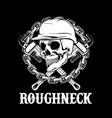 roughneck vector image vector image