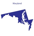 United States Maryland vector image vector image