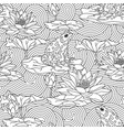 adult antistress coloring page vector image vector image