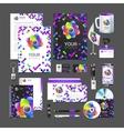 corporate identity creative color template design vector image vector image