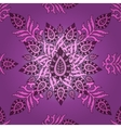 seamless eastern pattern floral vector image vector image