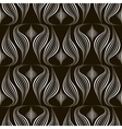 seamless pattern monochrome ornament vector image vector image