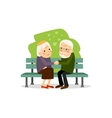 Seniors happy leisure vector image vector image