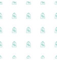 shopping sale icon pattern seamless white vector image vector image