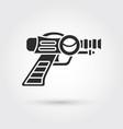space laser ray gun gun toy icon vector image