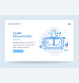 startup company web banner blue vector image
