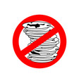 stop dirty dishes do not use dirty dish vector image vector image