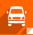 transport on the road vector image vector image