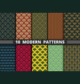 abstract modern style antique pattern colorful vector image vector image