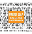 background city map pattern repeating seamless vector image vector image