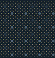 circle scale seamless pattern vector image