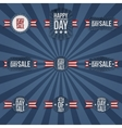 Independence Day Sale national Labels Collection vector image vector image