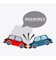 Insurance design vector image vector image